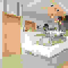 Pastelaria Lamego Espaços de restauração escandinavos por Homestories Escandinavo