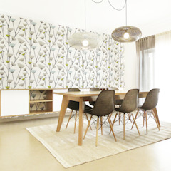 Homestories Scandinavian style dining room