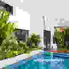 Công ty thiết kế xây dựng hồ bơi Saigonpoolspa Басейн