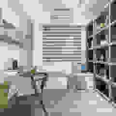 Scandinavian style study/office by 知域設計 Scandinavian