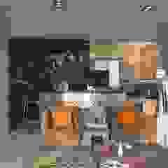 UHA Apartment Language of Design Modern kitchen