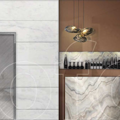 VA Residence Language of Design Modern wine cellar