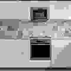 Anne Lapointe Chila Built-in kitchens Quartz White