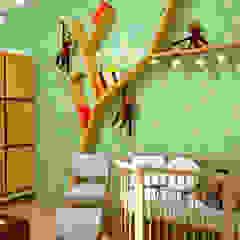 من Fark Arquitetura e Design بلدي خشب Wood effect
