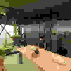 Tropical style conservatory by Pil Tasarım Mimarlik + Peyzaj Mimarligi + Ic Mimarlik Tropical
