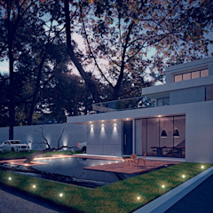 من 勻境設計 Unispace Designs حداثي الخرسانة