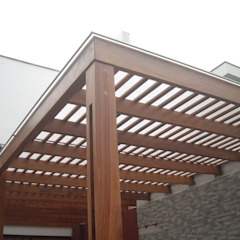 by GRUPO CONSARQ Modern لکڑی Wood effect