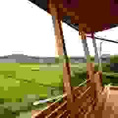 北村建築設計事務所 Modern terrace