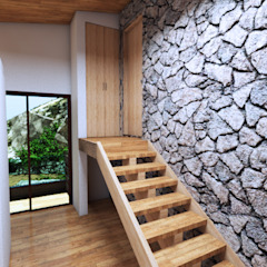 by Arquitecto Javier Escobar Tropical Stone