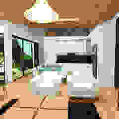 by Arquitecto Javier Escobar Tropical Wood Wood effect