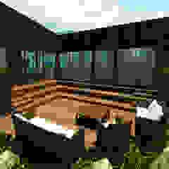 de Arquitecto Javier Escobar Tropical Madera Acabado en madera