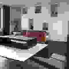 Nowoczesny salon od ARDEE Parket Interieur Design Nowoczesny Drewno O efekcie drewna