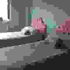 Oficina Rústica Nursery/kid's roomBeds & cribs Tekstil Pink