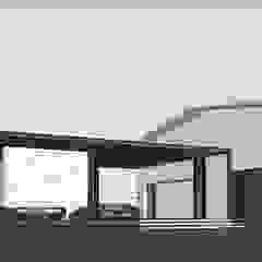 I House Extension by KN Design Minimalist Aluminium/Zinc