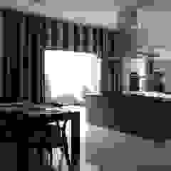 Cocinas de estilo moderno de Architecture Continuous Moderno