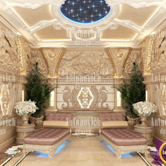 SPA interior design by Katrina Antonovich by Luxury Antonovich Design Asian