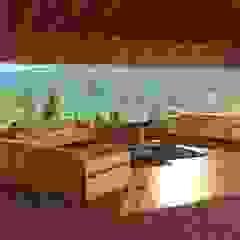 من Aedo Arquitectos & Design حداثي خشب Wood effect