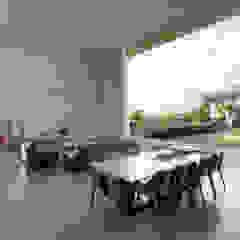 Casa Americana Salas de jantar escandinavas por Olaa Arquitetos Escandinavo