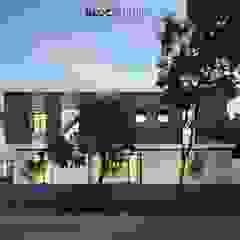 PIKtangular House Oleh BlocStudio Modern Kayu Buatan Transparent