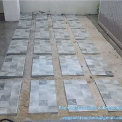 Outdoor Tiling by Sam Contractors Ipoh Modern