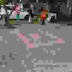 Outdoor Tiling by Sam Contractors Ipoh Modern Bricks