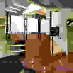 Livings de estilo moderno de KUBE Architecture Moderno