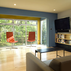 Dormitorios de estilo moderno de KUBE Architecture Moderno