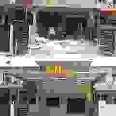 de Sam Contractors Ipoh Asiático Aluminio/Cinc
