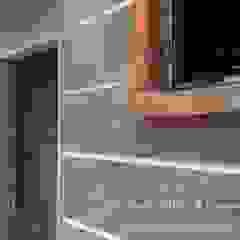 Backyard Extension Asian walls & floors by Sam Contractors Ipoh Asian Bricks