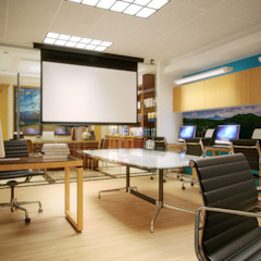New ITFC Interior Office by KDA Design + Architecture Eclectic