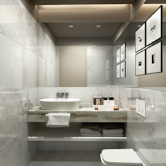 Studio 25 Eclectic style bathroom White