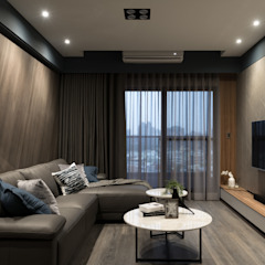 Salones escandinavos de Moooi Design 驀翊設計 Escandinavo
