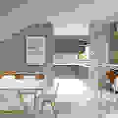 Casa RN-17 Salas de jantar escandinavas por Agenor Gomes Arquitetura + Design Escandinavo