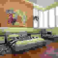 Etniczne nutki i ECO materiały – trend sezonu;) Egzotyczna sypialnia od Design studio TZinterior group Egzotyczny