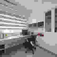 Scandinavian style study/office by 寬軒室內設計工作室 Scandinavian