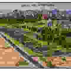 Locais de eventos campestres por ÇELİKCE Mimarlık Mühendislik Ltd. Şti. Campestre Compósito de madeira e plástico