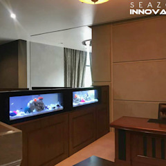 See Through Aquarium by Seazone Innovative Sdn Bhd Modern