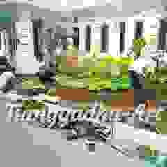 Tukang Taman Surabaya - Taman Kantor Oleh Tukang Taman Surabaya - Tianggadha-art Tropis Batu