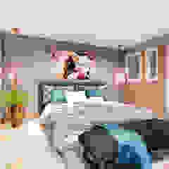 Chambre minimaliste par Conceptual Studio ARQUITECTUR Minimaliste Briques