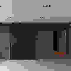 원룸도 멋진 주거공간이 될 수 있다. 인더스트리얼 거실 by 미우가 디자인 스튜디오 인더스트리얼