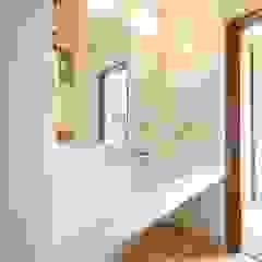 みゆう設計室 Scandinavian style bathroom