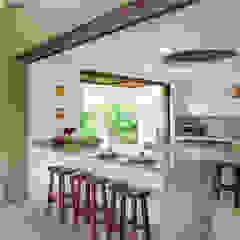 Cocina abierta de NOAH Proyectos SAS Moderno Mármol