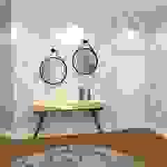 Home Office Corredores, halls e escadas ecléticos por Ellis Interior Design Eclético