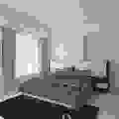 Minimalist bedroom by Interioarch Design Lab Minimalist Wood Wood effect