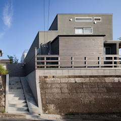 鎌倉中央公園の家 北欧風 家 の HAN環境・建築設計事務所 北欧