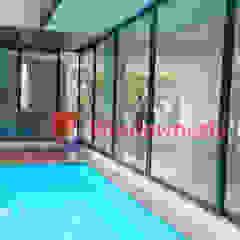 Pintu Geser Aluminium Oleh PT. Podomoro Windownesia Minimalis