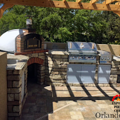 Mediterranean style balcony, porch & terrace by Dome Ovens® Mediterranean