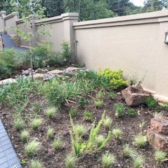 Northcliff Rustic style garden by jacques3 Rustic