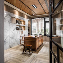 توسط 大漢創研室內裝修設計有限公司 آسیایی چوب Wood effect
