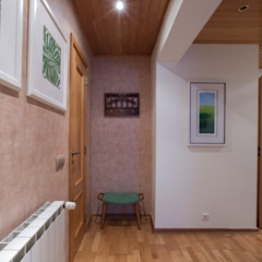 Corredores, halls e escadas mediterrânicos por maria inês home style Mediterrânico